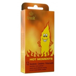 AMOR Hot Moments - 12 unidades